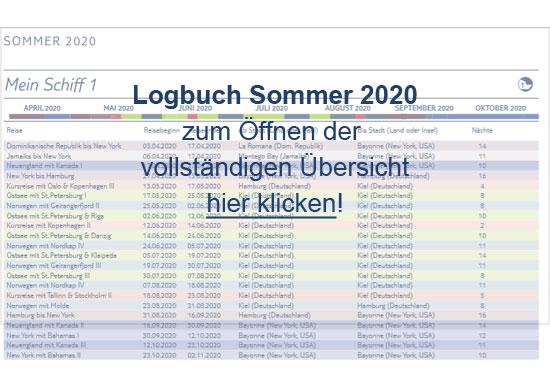 Logbuch Sommer 2020