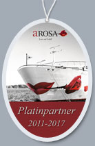 A-ROSA Platin Partner - Auszeichnung