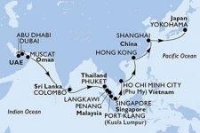 Vom Orient nach Japan